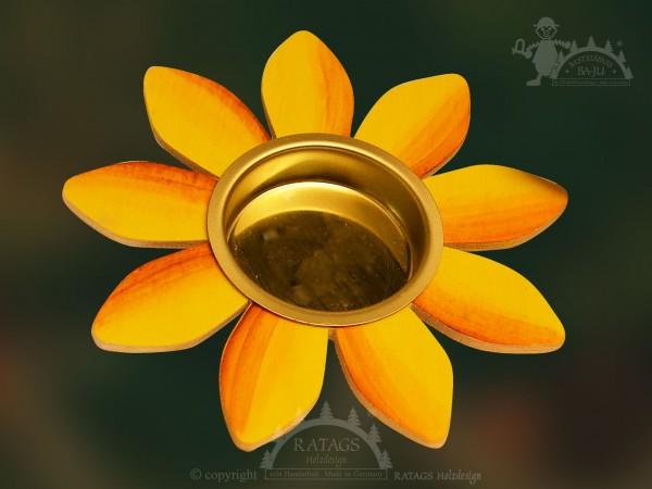 Tischschmuck, Blume, Teelichthalter, Fruehling