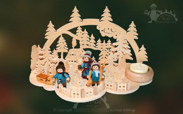 Tischschmuck Wolke, Deko, Weihnachten, echt Erzgebirge