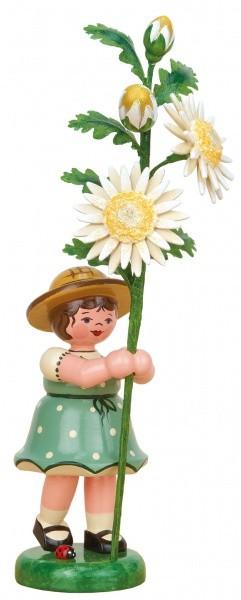 Blumenkind Mädchen Edelweißmargerite