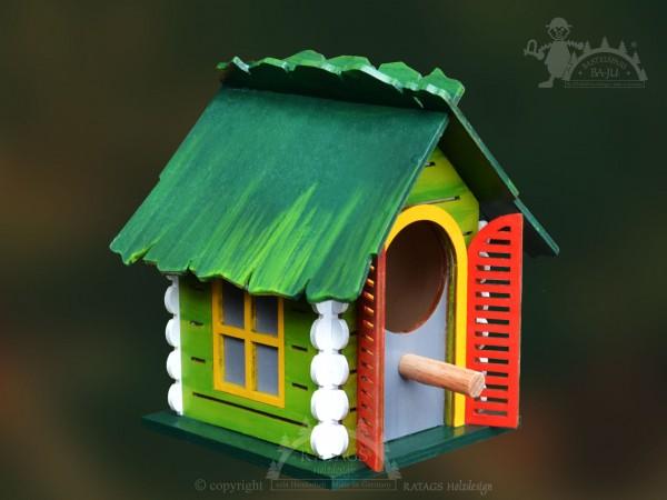 bs vogelhaus zum h ngen klein bastelartikel. Black Bedroom Furniture Sets. Home Design Ideas