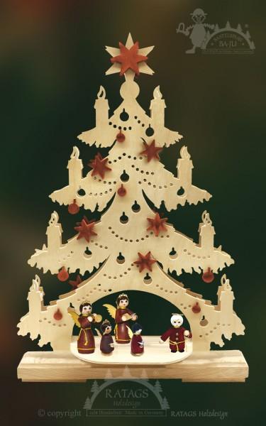 Tanne zum basteln mittel, Weihnachten, echt Erzgebirge