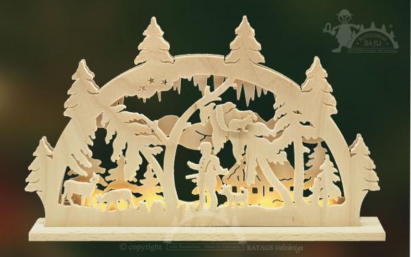 Schwibbogen Foerster, Deko, Weihnachten, echt Erzgebirge