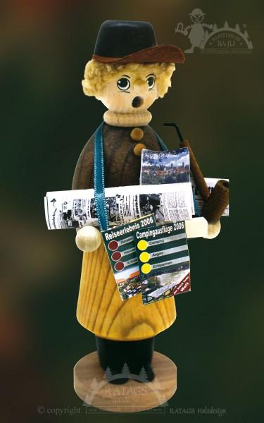Räuchermännchen zum Basteln, Zeitungsverkäufer, Presse