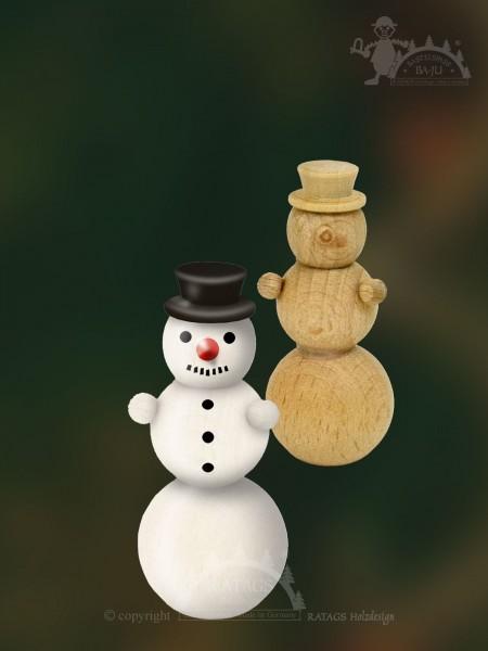 Bastelset, Schneemann, Schneekugel, Zylinder, Karotte
