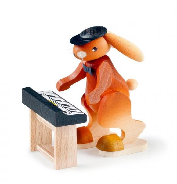 Hase mit Keyboard