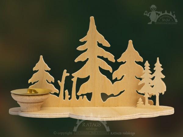 Tischschmuck Wald, Deko, Weihnachten, echt Erzgebirge