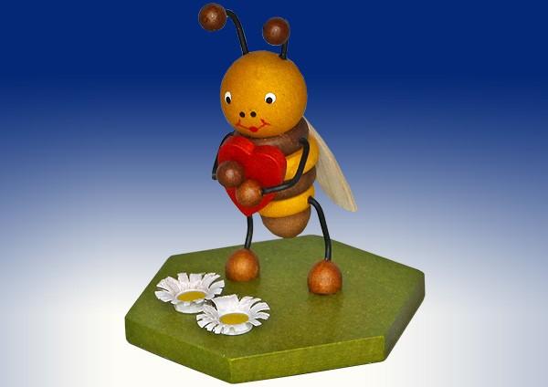 Figur Biene mit Herz