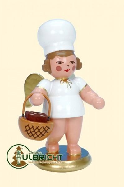 Figur, Bäckerengel mit Körbchen