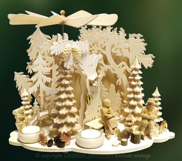 Wand- & Tischpyramide, Deko, Weihnachten, echt Erzgebirge