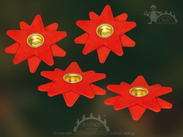 Kerzenhalter Sterne, Pyrmaidenkerzen, Weihnacht, Deko