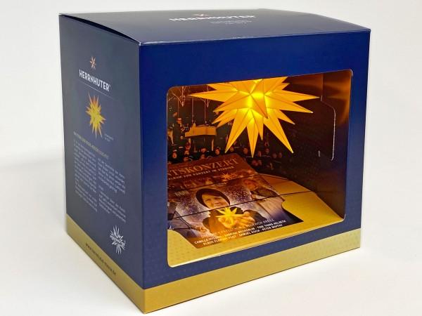 Geschenkebox, Herrnhuter Stern, Adventskonzert, Audio-CD