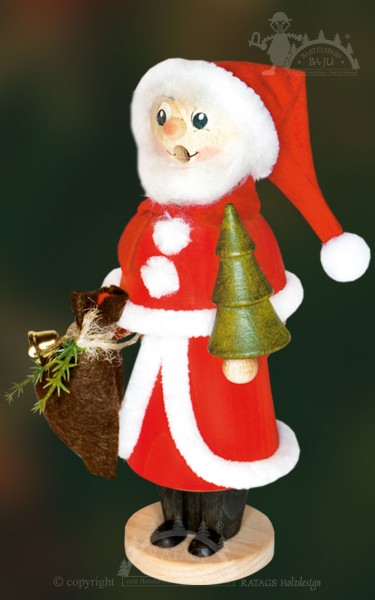 Räuchermännchen zum Basteln, Weihnachtsmann