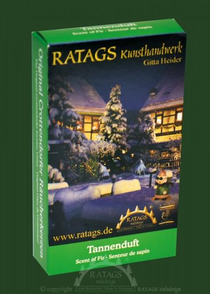 Raeucherkerzen, Tannenduft, Weihnachten, echt Erzgebirge
