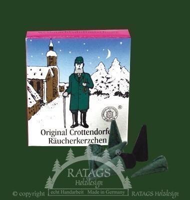 Mini Raeucherkerzen, Mischung, Weihnachten, echt Erzgebirge
