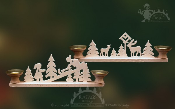 Tischschmuck Kerzen, Deko, Weihnachten, echt Erzgebirge