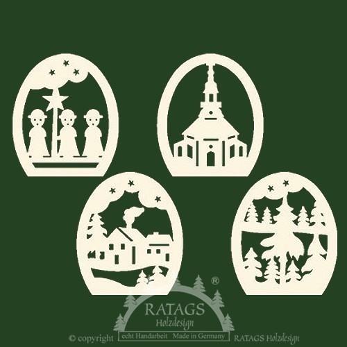 Baumbehang, Deko, Seiffen, echt Erzgebirge, natur