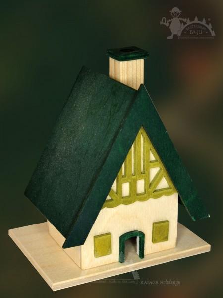 Räucherhaus zum Basteln, Weihnacht, Duft, Räucherkerzen