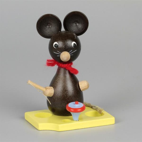Mäusekind mit Kreisel
