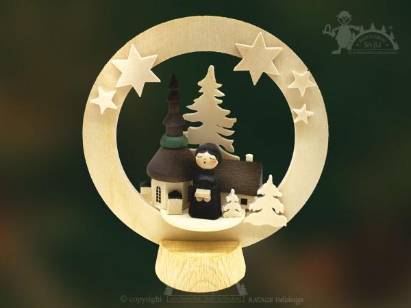 Tischschmuck Kurrende, Deko, Weihnachten, echt Erzgebirge