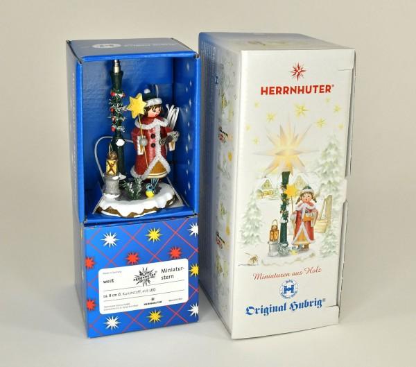 Winterkind, Herrnhuter Sternsinger, elektrisch, Erzgebirge