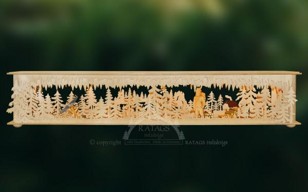 Raumleuchte geschnitzte Figuren, Deko, echt Erzgebirge