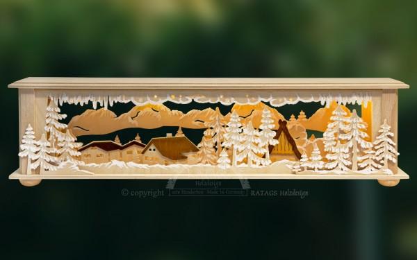 Raumleuchte H=E4uschen, Deko, Weihnachten, echt Erzgebirge