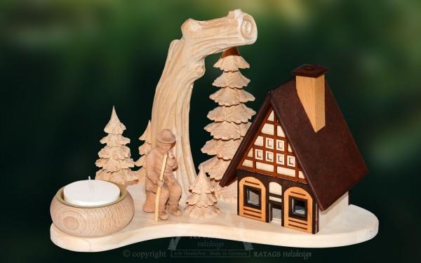 Raeucherhaus Foerster, Deko, Weihnachten, echt Erzgebirge