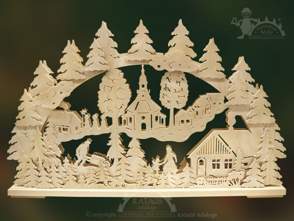 Schwibbogen Seiffen, Deko, Weihnachten, echt Erzgebirge