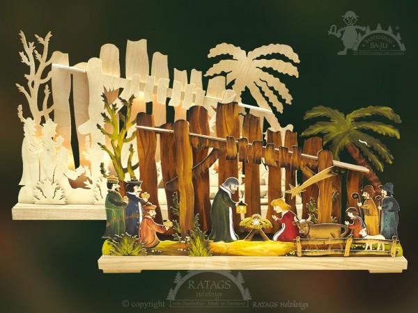 Schwibbogen Bethlehem, Deko, Weihnachten, echt Erzgebirge