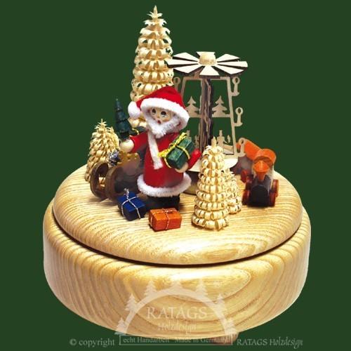 Spieldose, Deko, Weihnachten, echt Erzgebirge