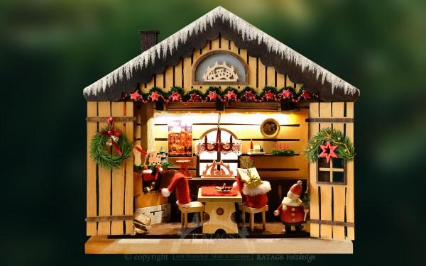 3D-Lichterhaus, Weihnachtsstube