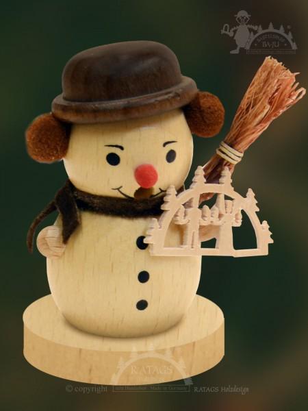 Räucherschneemann zum Basteln, Weihnacht, Duft