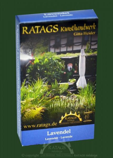 Raeucherkerzen, Lavendel, Weihnachten, echt Erzgebirge